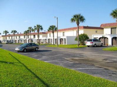 Spacious condominiums at Ocean Palm Villa.