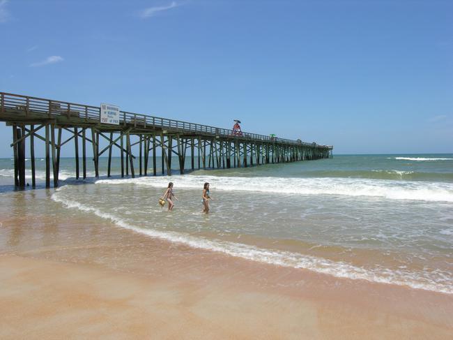 Flagler Beach's fishing pier