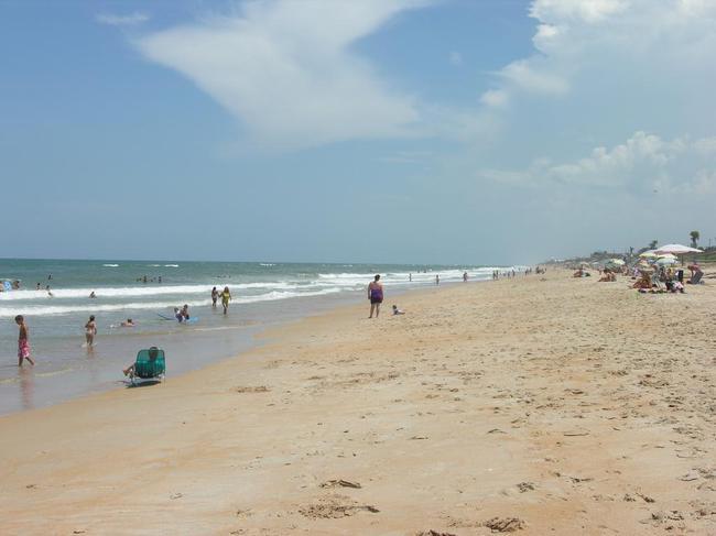 Flagler Beach has beautiful sandy beaches